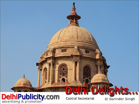Central Secretariat Delhi Delights